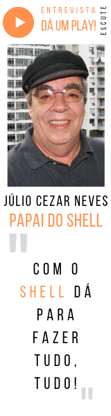 ENTREVISTA Podcast com Júlio Cezar Neves, o Papai do Shell